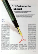 eDocPrintPro im c´t Heft 4 - 2008 vorgestellt