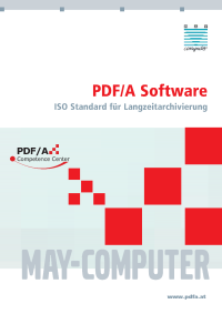 "Broschüre - ""PDF/A Software"""