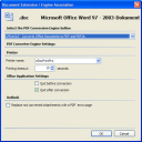 Office2PDFA File Format Engine Configuration