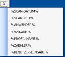 DirectScan Variablen Dateiname und Folder