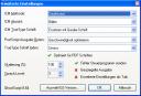 eDocPrintPro - erweiterte Einstellungen - optimiert für PDF