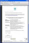 Unterschrift als Image zur visuelle Darstellung der aufgebrachten elektronischen Unterschrift