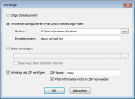 4_eDoc PDFA Level3 - Anhänge - Dateien aus einem vordefinierter Ordner mit Filter anzeigen