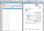ZUGFeRD Rechnugsdatei mit eingebetteter XML