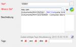 ifresco Profiler - Standard Plugin - type ahead Suche nach Ordnern