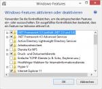 .NET framework 3.5 aktivieren