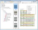 A1_PDFMerge - Userinterface - Miniaturen mit Seitenvoransicht und Darstellungs Funktionen