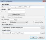 DropOCR Konfiguration