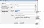 E1_PDFMerge - PDFExport Einstellungen - Allgemeine Info