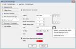 E5_PDFMerge - PDFExport Einstellungen - Seiten Nummern