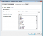 04 EMail Archiver - Config metadata export to XLS #1