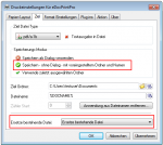 2_To do not get the save as dialog the options shoud be changed - the file is saved without dialog