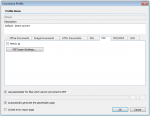 CO5_FCpro - Conversion profile config - PDFA and PDFExport settings