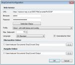 DropConvert - FileConvertPro Windows Client - Konfigurationseinstellungen