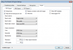 OC10_FCpro - Conversion profile config - Abbyy OCR settings - PDF export parameter