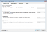 OC5_FCpro - Conversion profile config - Abbyy OCR settings - predefined profiles