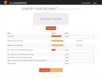 4_Mit Start der Konvertierung - werden die Dateien auf den Testserver hochgeladen und gleich konvertiert