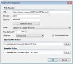 DropOCR - Konfigurationseinstellungen 1.2.5