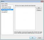 FileConverter Pro - DWG2PDF - Konfigurations Einstellungen - SHX und Xref Verzeichnisse