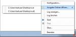 3_HotFolder für FCpro - Icon Tray Context Menü