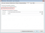 Option um die Temporäre Datei bis zum Neustart zu erhalten