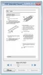 2_Der Voransicht Modus ist für die Anzeige von Seitenminiaturen gedacht - Funktionen zur Seitennavigation sind verfügbar - Über Doppelklick kann das große Anzeige oder Bearbeitungs Fenster geöffnet werden
