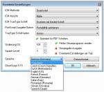 eDocPrintPro - Auswahl der verfügbaren Sprachen