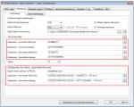 EMail Archiver - MS-Outlook plugin - Dateinamen Konfiguration je nach Funktion und für gesendete Elemente unterschiedlich