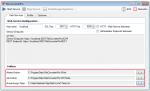 Konfiguration der Pfade für die temporären Dateien