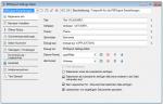 1_PDFExport Einstellungen - Allgemeine Info