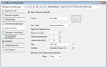 5_PDFExport Einstellungen - Seiten Nummerierung