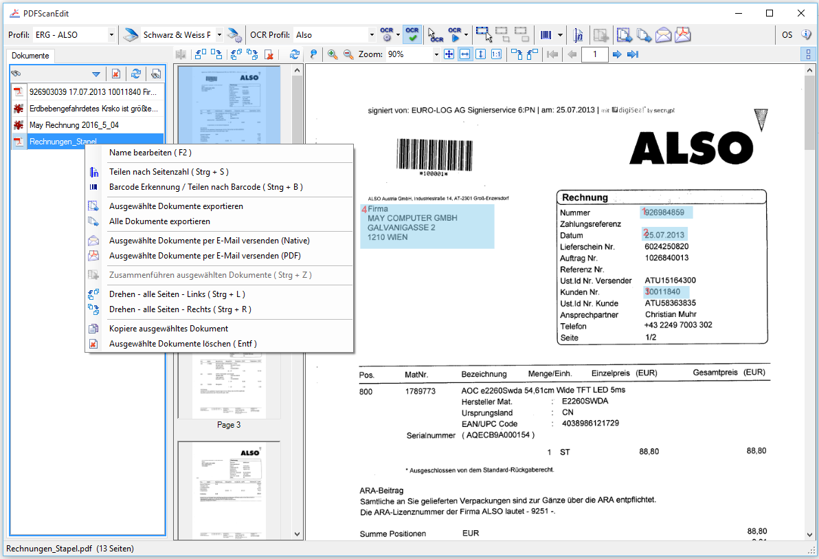 scan and edit document software