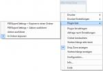 4_DropZone - Plugin Sets des Druckers für die Verarbeitung auswählbar