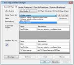 5_DropZone - Plugin Sets verwalten, Plugins konfigurieren