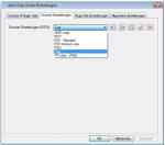 6_DropZone - Drucker Profile verwalten - import, export, umbennnen, löschen