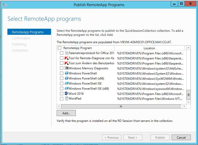 eDocPrintPro – Plugins on MS Terminal Server / Citrix