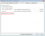 EMail Archiver - Hintergrundverarbeitung - Keine Bestätigung anzeigen