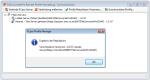 7_FFCPro - Profil Manager - Synchronisieren - Eine Replikation zwischen den FCpro Servern ist nur bei gleichem Versionsstand möglich