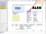 Im PDFmdx Editor kann nach Text-Strings vorwärts und rückwärts gesucht werden - die Fundstelle wird markiert