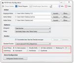 PDF2Printer - Neue Druckfunktionen - Ausrichtung & Druck Modus