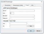 5_iPaper Server - SMTP EMail Server Konfiguration für die Fehler-Benachrichtigung