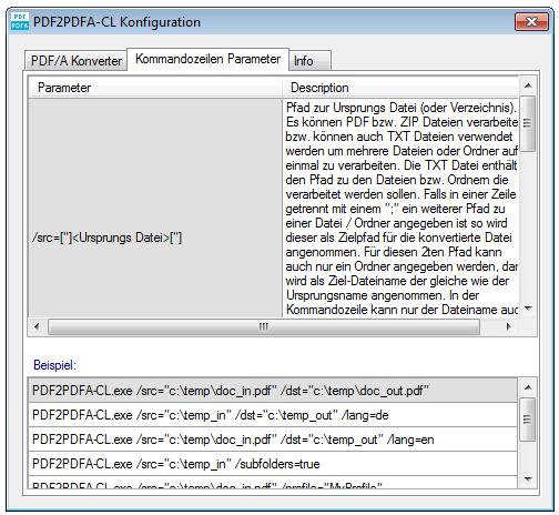 PDF2PDFA-CL – Command line application – convert PDF to PDF